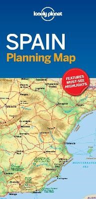 Lonely Planet Spain Planning Map - pr_161519