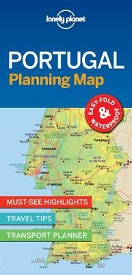 Lonely Planet Portugal Planning Map - pr_158033