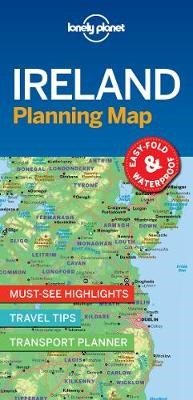 Lonely Planet Ireland Planning Map - pr_176387