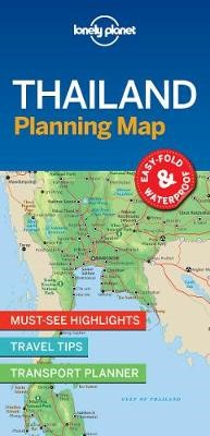 Lonely Planet Thailand Planning Map - pr_163014