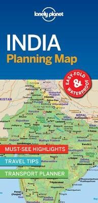 Lonely Planet India Planning Map -