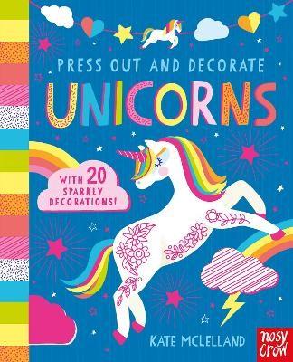 Press Out and Decorate: Unicorns - pr_119347