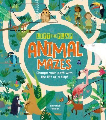Lift-the-Flap: Animal Mazes -