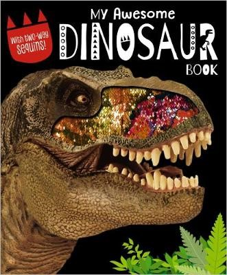 My Awesome Dinosaur Book With Sequins -