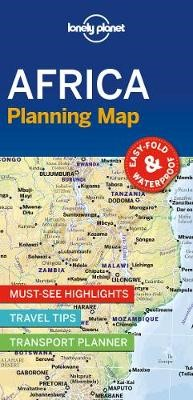 Lonely Planet Africa Planning Map -