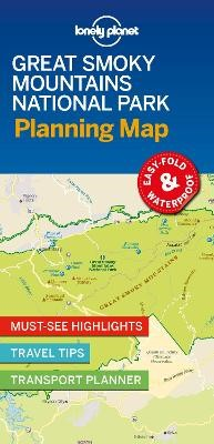 Lonely Planet Great Smoky Mountains National Park Planning Map - pr_170832