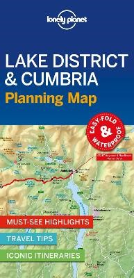 Lonely Planet Lake District & Cumbria Planning Map - pr_369899