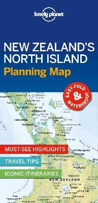 Lonely Planet New Zealand's North Island Planning Map -