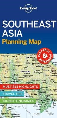 Lonely Planet Southeast Asia Planning Map -