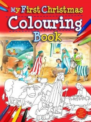 My First Christmas Colouring Book -