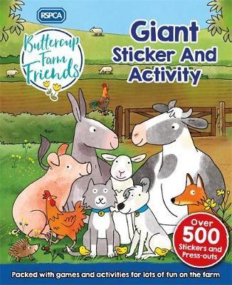 RSPCA: Buttercup Farm Friends Giant Sticker and Activity - pr_238038