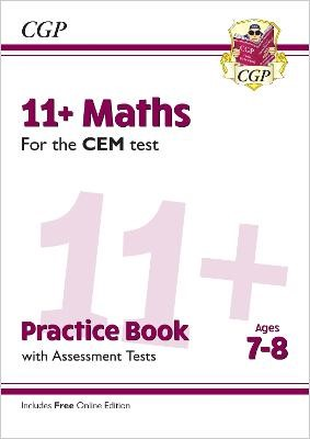 11+ CEM Maths Practice Book & Assessment Tests - Ages 7-8 (with Online Edition) - pr_288025
