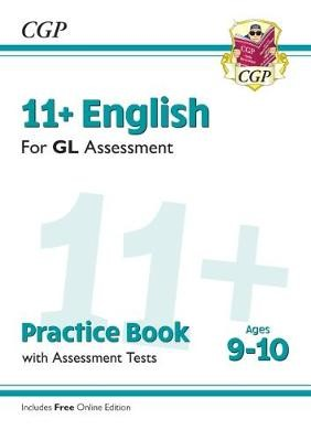 11+ GL English Practice Book & Assessment Tests - Ages 9-10 (with Online Edition) - pr_312610