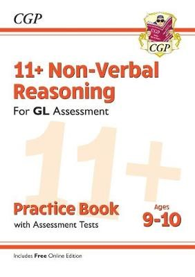 11+ GL Non-Verbal Reasoning Practice Book & Assessment Tests - Ages 9-10 (with Online Edition) -