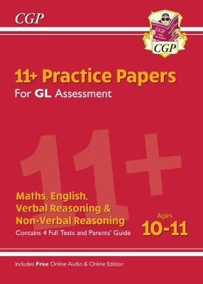 11+ GL Practice Papers Mixed Pack - Ages 10-11 (with Parents' Guide & Online Edition) - pr_231881