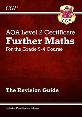 New Grade 9-4 AQA Level 2 Certificate: Further Maths - Revision Guide (with Online Edition) - pr_1751423