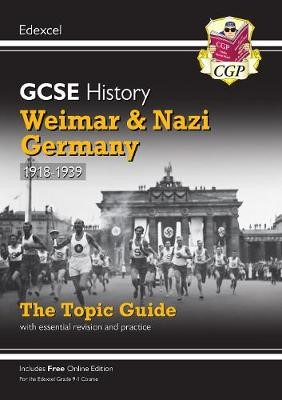 New Grade 9-1 GCSE History Edexcel Topic Guide - Weimar and Nazi Germany, 1918-39 - pr_17102