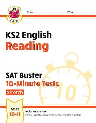 New KS2 English SAT Buster 10-Minute Tests: Reading - Stretch -