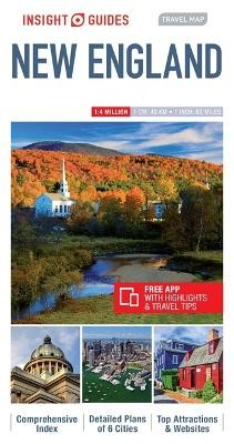 Insight Guides Travel Map New England - pr_246138