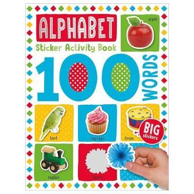 100 Alphabet Words Sticker Activity -