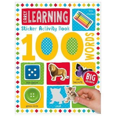 100 Early Learning Words Sticker Activity - pr_1804344
