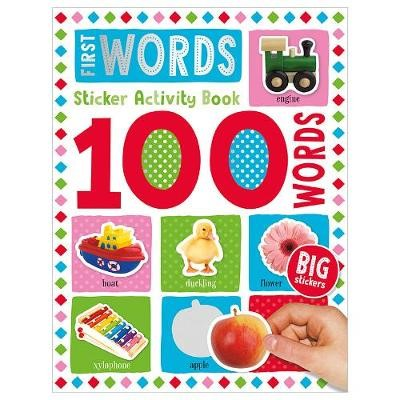 100 First Words Sticker Activity -