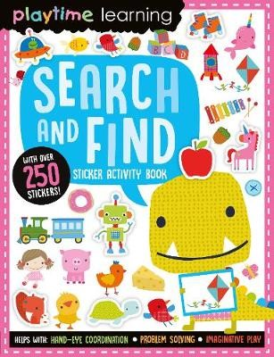 Playtime Learning Search and Find Sticker Book -
