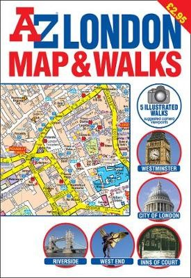 A-Z London Map and Walks - pr_16768