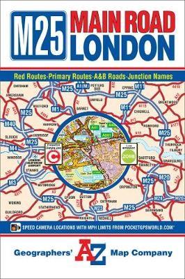 M25 Main Road Map of London - pr_16383