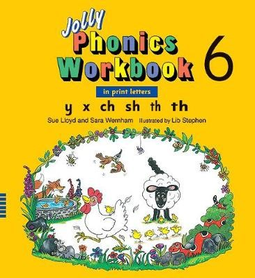 Jolly Phonics Workbook 6 - pr_32167