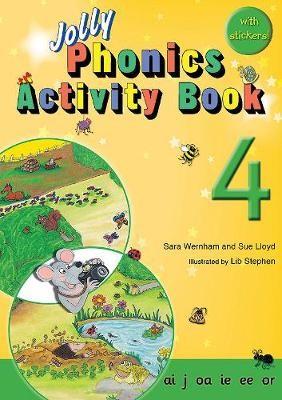 Jolly Phonics Activity Book 4 - pr_22151
