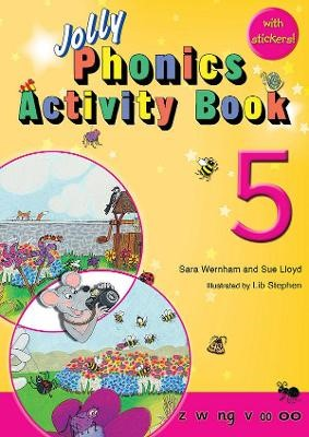 Jolly Phonics Activity Book 5 - pr_31888