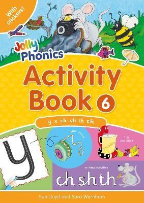 Jolly Phonics Activity Book 6 -