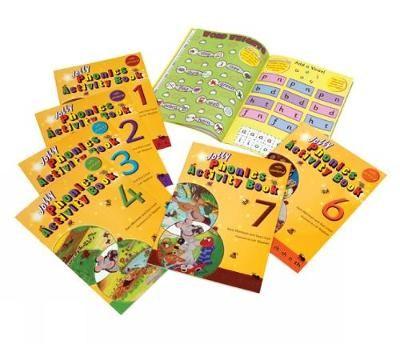 Jolly Phonics Activity Books 1-7 -