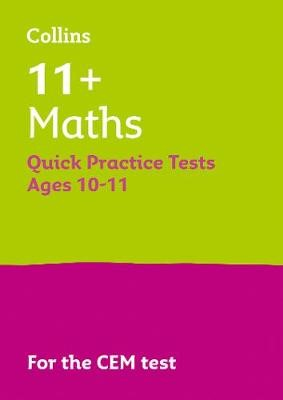11+ Maths Quick Practice Tests Age 10-11 (Year 6) - pr_58317