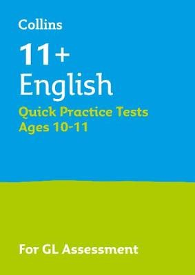 11+ English Quick Practice Tests Age 10-11 (Year 6) - pr_58337