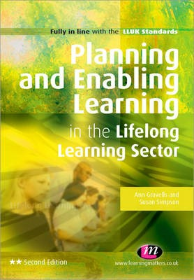 Planning and Enabling Learning in the Lifelong Learning Sector -