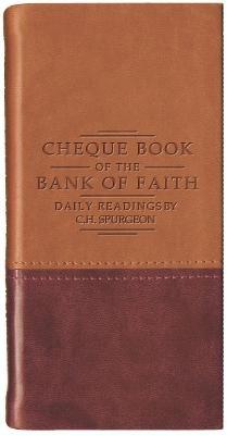 Chequebook of the Bank of Faith - Tan/Burgundy -