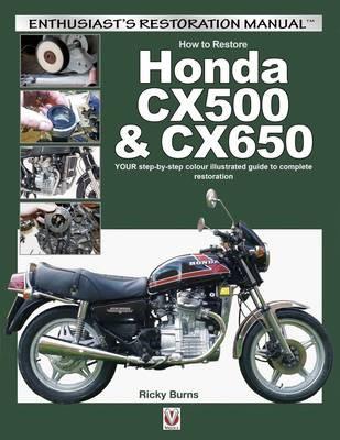 How to Restore Honda Cx500 & Cx650 - pr_288651