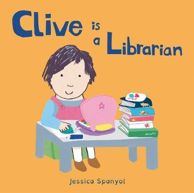 Clive is a Librarian -