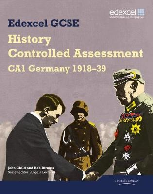 Edexcel GCSE History: CA1 Germany 1918-39 Controlled Assessment Student book - pr_17680
