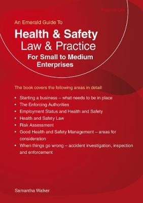 Health & Safety Law & Practice For Small To Medium Enterprises - pr_70357