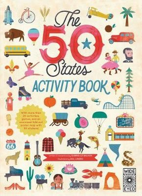 The 50 States: Activity Book -