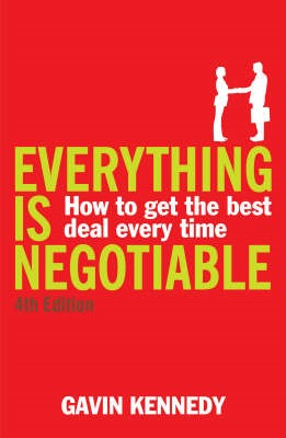 Everything is Negotiable -