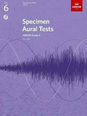 Specimen Aural Tests, Grade 6 with CD - pr_76158