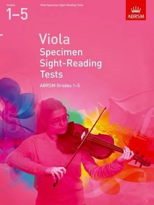 Viola Specimen Sight-Reading Tests, ABRSM Grades 1-5 -