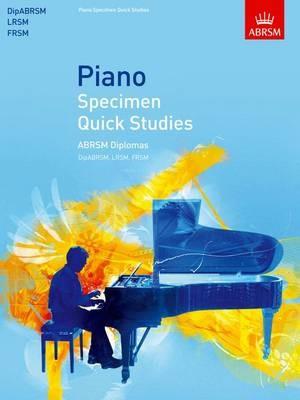 Piano Specimen Quick Studies -