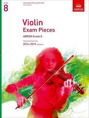 Violin Exam Pieces 2016-2019, Abrsm Grade 8 - pr_275228