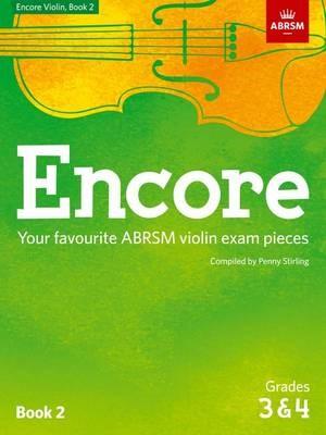Encore Violin, Book 2, Grades 3 & 4 -