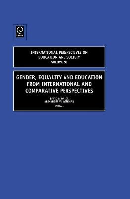 Gender, Equality and Education from International and Comparative Perspectives -